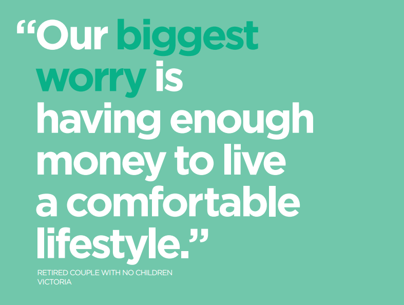ME Household Financial Comfort Report Quote