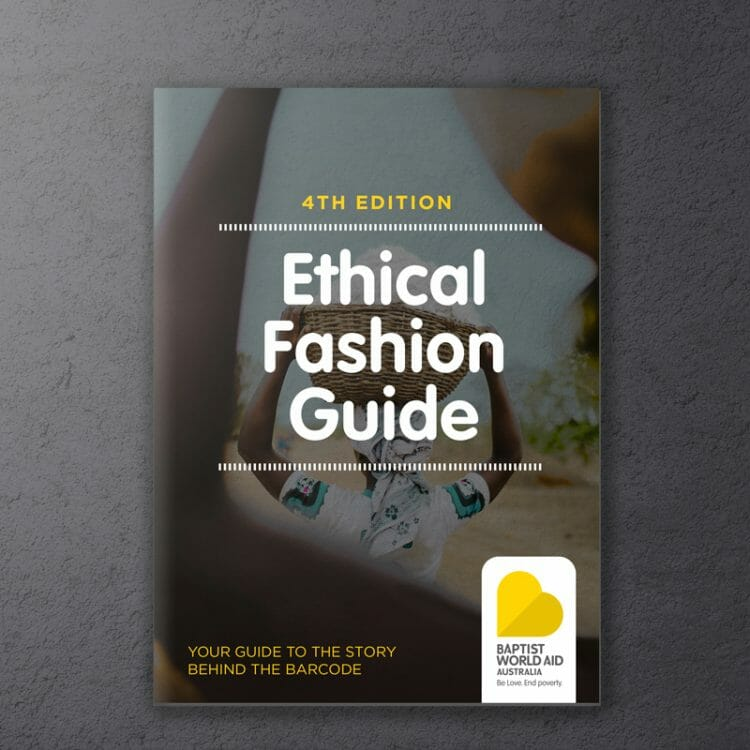 Baptist world aid's ethical fashion report - behind the barcode